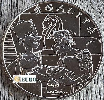 10 euros France 2015 - Asterix égalité Cléopâtre