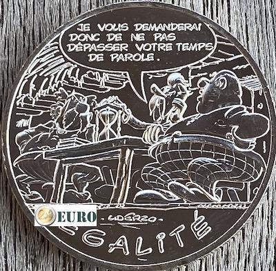10 euros France 2015 - Asterix égalité Le Cadeau de César