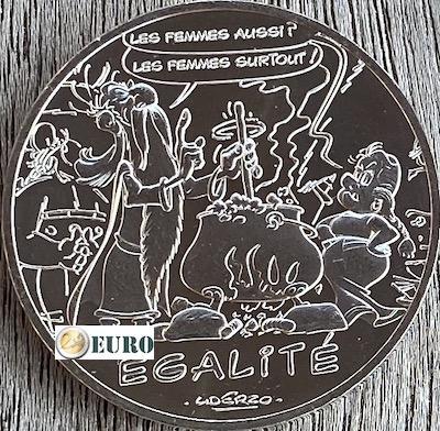 10 euros France 2015 - Asterix égalité Le Devin