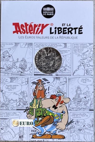 10 euros France 2015 - Asterix Liberté Chez les Bretons - en cartelette