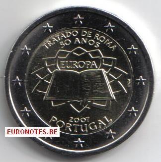Portugal 2007 - 2 euros Traité de Rome TdR UNC