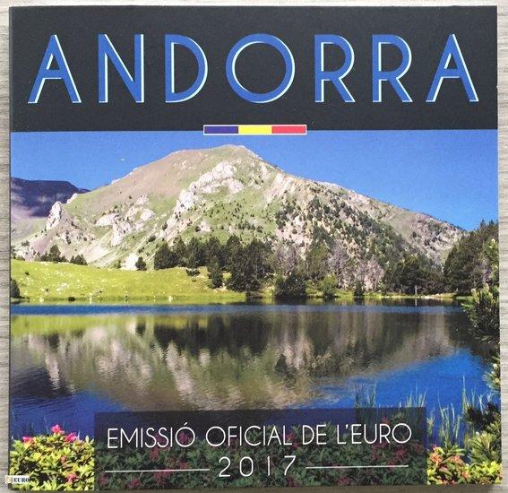 Série euro BU FDC Andorre 2017