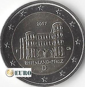 2 euros Allemagne 2017 - F Rheinland-Pfalz UNC