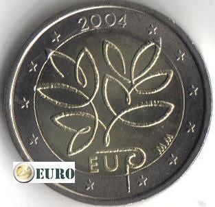 2 euros Finlande 2004 - Elargissement de l'UE UNC - Catégorie 2