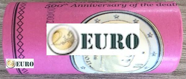 Rouleau 2 euros Italie 2019 - Leonardo da Vinci - édition limitée