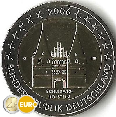 Allemagne 2006 - 2 euro G Schleswig-Holstein UNC
