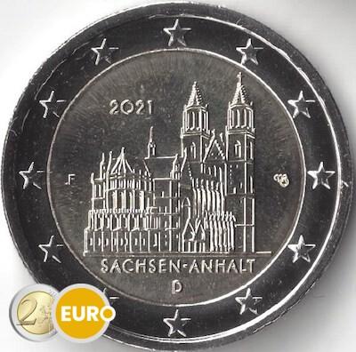 2 euros Allemagne 2021 - F Saxe-Anhalt UNC
