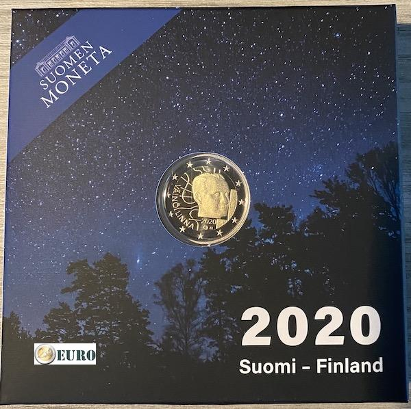 2 euros Finlande 2020 - Vaino Linna BE Proof