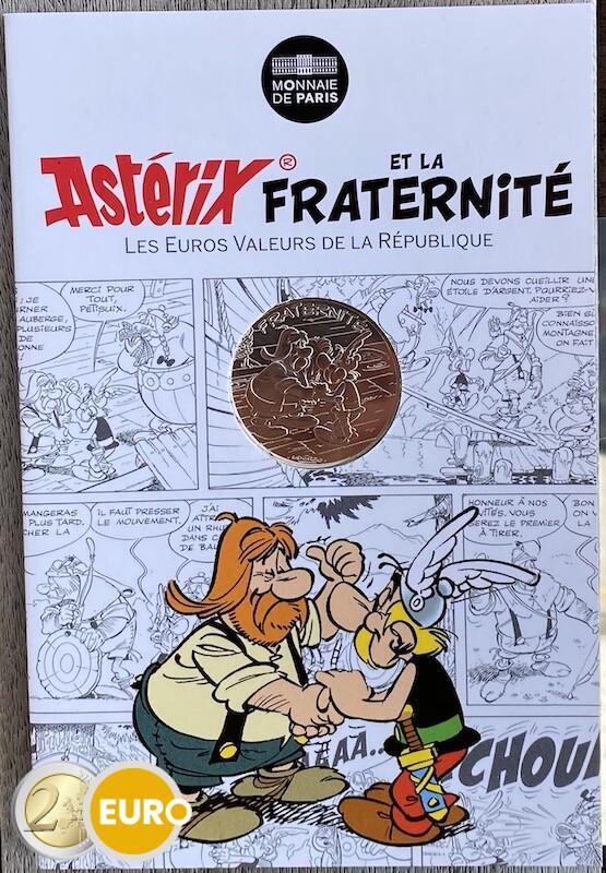 10 euros France 2015 - Asterix fraternité chez les Helvètes - en cartelette