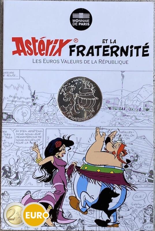 10 euros France 2015 - Asterix fraternité en Hispanie - en cartelette