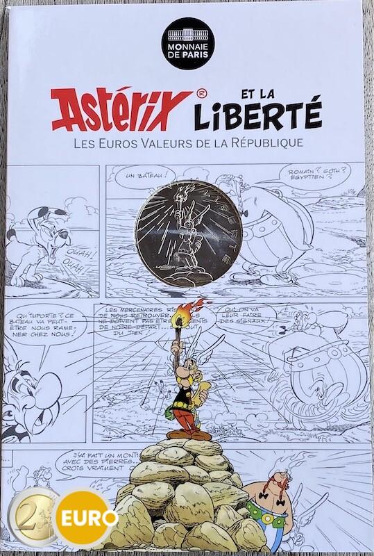10 euros France 2015 - Asterix Liberté La Grande Traversée - en cartelette