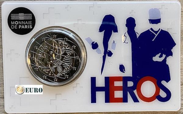 2 euros France 2020 - Recherche Médicale BU FDC Coincard