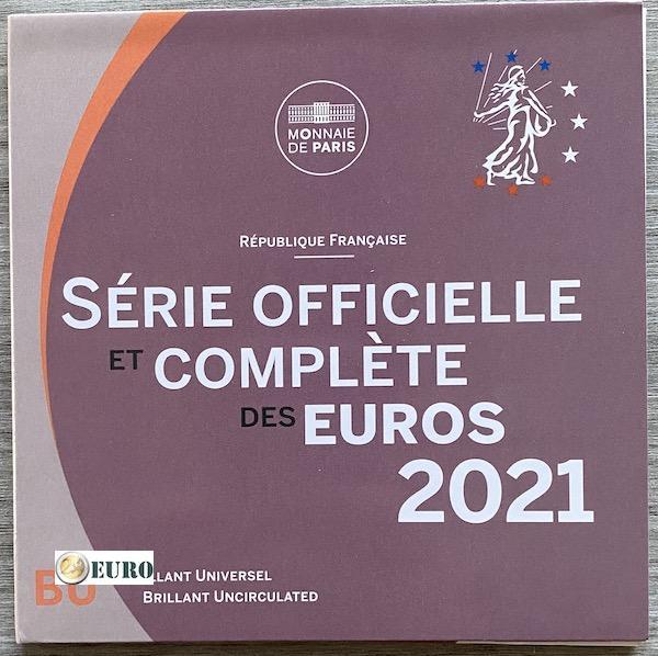 Série euro BU FDC France 2021