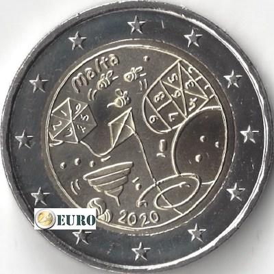 2 euros Malte 2020 - Jeux UNC