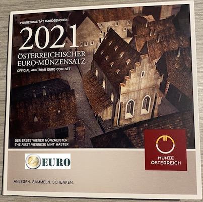 Série euro BU FDC Autriche 2021 - Schlom