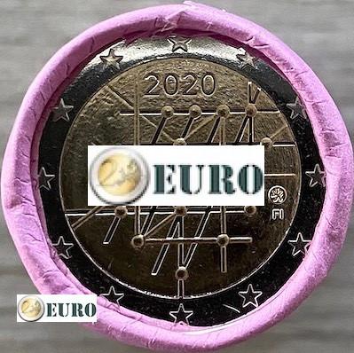 Rouleau 2 euros Finlande 2020 - Université de Turku