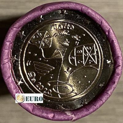 Rouleau 2 euros Malte 2020 - Jeux