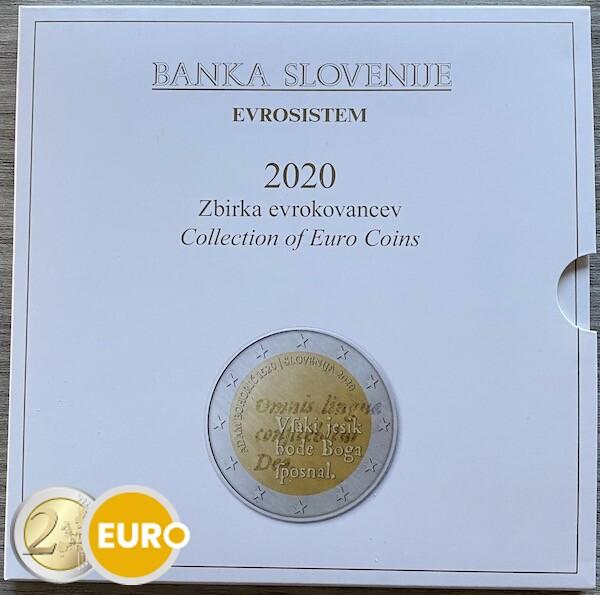 Série euro BU FDC Slovénie 2020