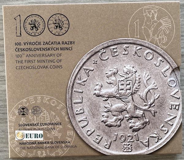 Série euro BU FDC Slovaquie 2021 - Monnaie tchécoslovaque