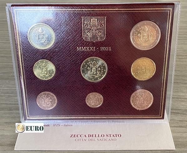 Série euro BU FDC Vatican 2021