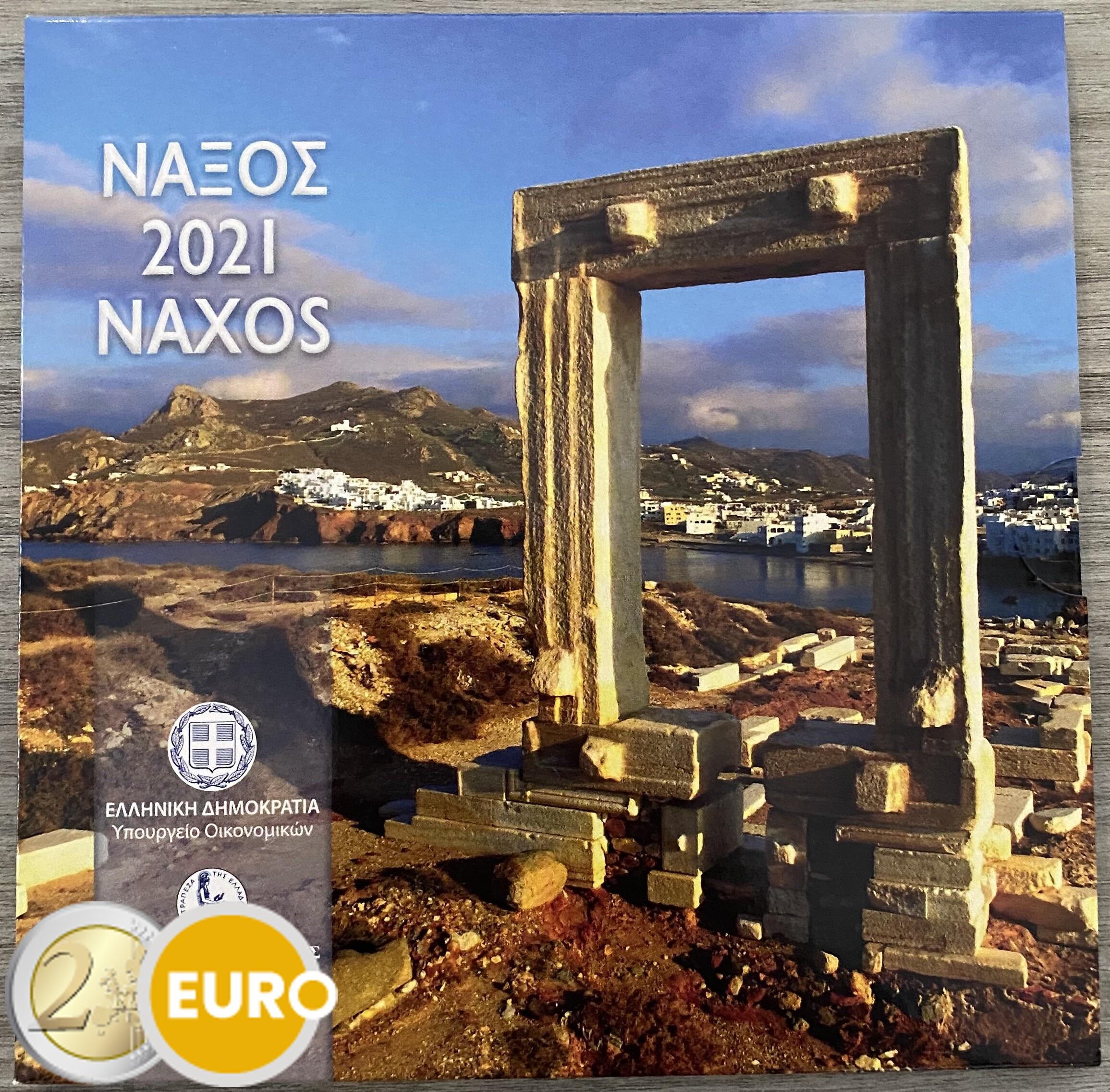 Série euro BU FDC Grèce 2021 Naxos